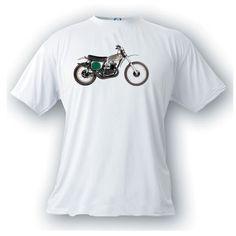 Honda elsinore CR250 vintage image t-shirt motocross motorcycle by artonstuffdesigns on Etsy