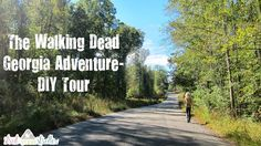 DIY Walking Dead tour in Georgia with map and guide. #thewalkingdead #walkingdead