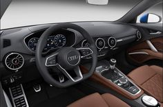 2015 Audi TTS Roadster Interior