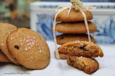 Cosicas dulces...y alguna salada: Galletas de miel y pepitas de chocolate