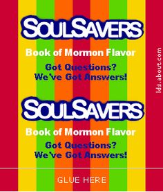 Soul Savers life saver candy wrapper
