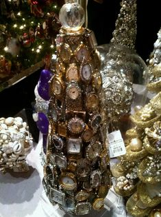 old watches crafts   christmas tree made with old watches--check out the price ...   Crafts