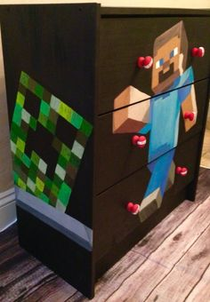 Minecraft DIY furniture decor bedroom by Courtney James