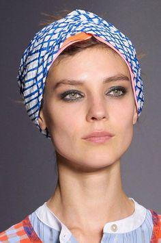 foulard bijoux cheveux