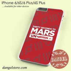 30 Seconds To Mars Unplugged Phone case for iPhone 6/6s/6 Plus/6S plus
