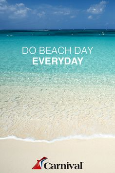 Book the ultimate beach vacation on a Carnival Cruise. Visit Carnival.com to start planning now.