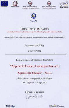 Cooperativa Maia: ....a fattoria sociale!!!