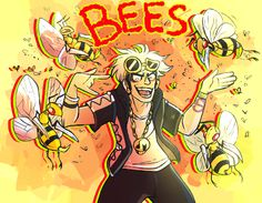 LOCAL BUG MAN RELEASES BEES