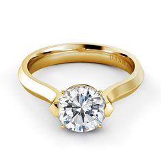 Danhov Classico engagement ring. CL123. Made in America. www.danhov.com