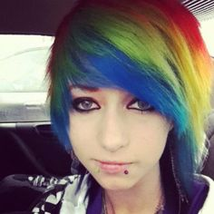 what if I dyed my hair like this after it grows back out???