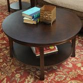 Found it at Wayfair - Bay Shore Coffee Table with Shelf