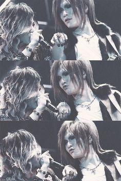 Ruki and Uruha. The GazettE