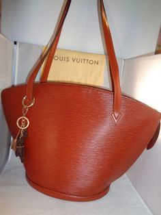 Authentic Pre-Owned LOUIS VUITTON Epi Leather St. Jacques GM Kenya Brown  Shoulder Bag 6c03ebe395aef