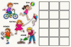 slož větu Kids Rugs, Comics, Logos, Decor, Picasa, Activities, Decoration, Kid Friendly Rugs, Logo