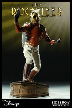Rocketeer Premium Format - Exclusive with Cliff Secord head