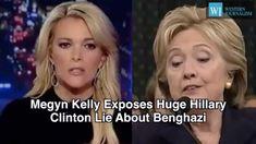 Megyn Kelly Exposes Huge Hillary Clinton Lie About Benghazi
