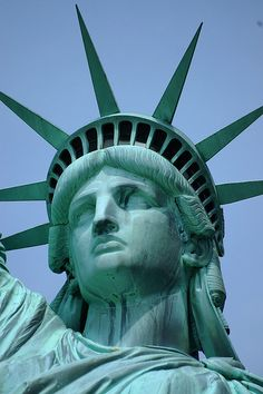 Statue of Liberty - New York!  Four more days until I am in NY City with my Sweetie!