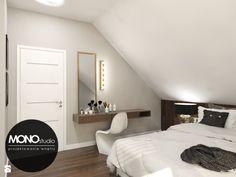 Elegancka,stylizowana sypialnia dla oryginalnego przedsiębiorcy. - zdjęcie od MONOstudio - Sypialnia - Styl Nowoczesny - MONOstudio