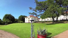 The Victoria Falls Hotel has an enviable location and stunning grounds Victoria Falls, Zimbabwe, Lodges, Safari, Tent, Beautiful Places, Places To Visit, Plants, Cabins