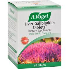 A Vogel Liver Gallbladder Tablets - 60 Tablets