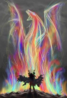 Si te enfrentas al dragón, hay una posibilidad de que lo elimines, pero si no te enfrentas a él, es seguro que él te destruirá.