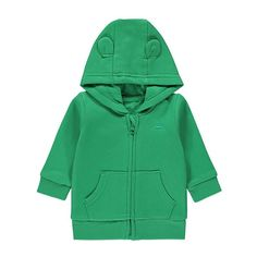 Soft-on-their-skin, this green fleece lined hoodie features cute car stitched detailing . Asda, Latest Fashion For Women, Raincoat, Hoodies, Sweaters, Jackets, Baby Baby, Leo, Style