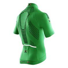 Maillot X-Bionic Twyce Biking Shirt manga corta verde negro Cycling Wear, Cycling Jerseys, X Bionic, Crossfit Clothes, Bike Shirts, Fitness Wear, Sport Wear, Trail Running, Workout Wear