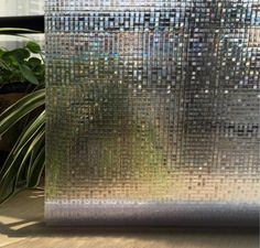 Home Decor Removable Opaque Privacy Static Cling Glass Window Film Home Decor Small Mosaic Window Sticker Office Bathroom