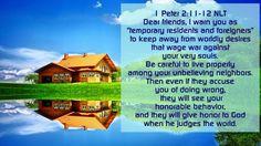 1 Peter 2:11-12