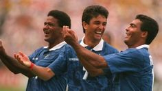 Mazinho, Bebeto & Romario, Brazil World Cup 1994