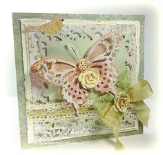 spellbinders wonderful wings | Linda's works of Heart: