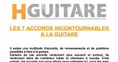 Numéro spécial, où l'on va découvrir les 7 accords incontournables à jouer à la guitare.