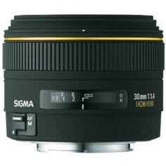 $489 Sigma 30mm f/1.4 EX DC  Lens