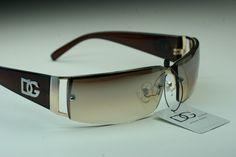 Rectangle Rimless DG Eyewear Fashion brown Sunglasses Mirror tint Women 7602 | eBay