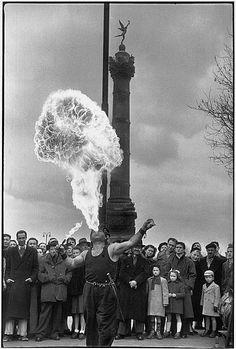 Place de la Bastille, 1953 - Henri Cartier-Bresson