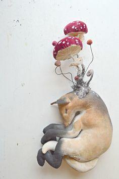Toadstool fox By Mister Finch http://www.mister-finch.com/