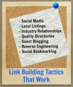 Link Building can and should be focused on quality content, websites and relationships. Here are seven tactics E-Power Marketing uses to build links.