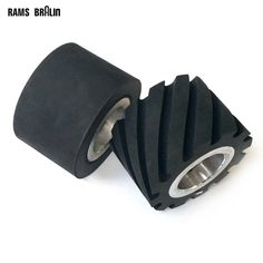 1 piece 75*50mm  Rubber Contact Wheel Belt Grinder Part with Hole for 6202 bearings or 25mm ID