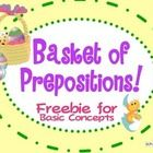 Working on basic concepts or prepositions?   Well this Eggs-cellent freebie is just for you!    Enjoy the multiple activities this little product b...