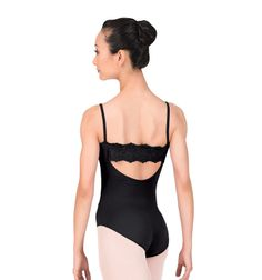 Adult Camisole Anglaise Back Leotard - Style Number: L3050 Discount Dance Supply