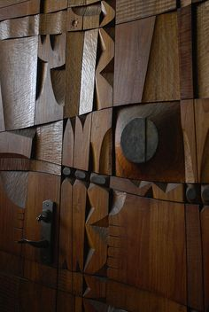 Louise Nevelson Assemblage | SCRAP Wood Assemblage(s) - a gallery on Flickr