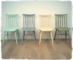 Chaises Vintage TAPIOVAARA Revisitées
