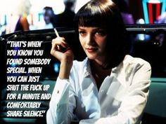Uma Thurman--Pulp Fiction