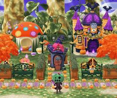 Your place for the latest campground news in Animal Crossing: Pocket Camp! Animal Crossing Pocket Camp, Animal Crossing Game, Halloween Design, New Leaf, Alien Logo, Crib, Camping, Inspiration, Painting
