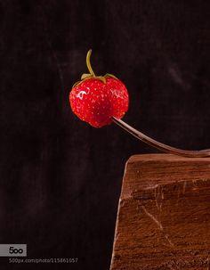 strawberry by legat - Pinned by Mak Khalaf