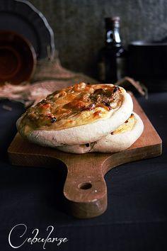 Cebularz - onion cake. Check more my recipes at www.facebook.com/ciastecznik