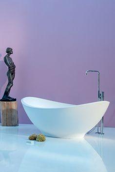 freistehende Badewanne Lavasca Mini weiss Bathtub, Bathroom, Mini, Freestanding Tub, Bathing, Standing Bath, Bath Room, Bath Tub, Bathrooms