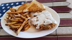 """Nothing says """"Texas"""" like a Chicken Fried Steak from Chapps!"""