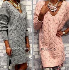 Как хорошо уметь вязать: Платье спицами........