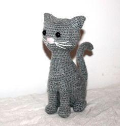 Katze häkeln // Tiere häkeln // Amigurumi DIY Ihr wisest ja, ich liebe Katzen!